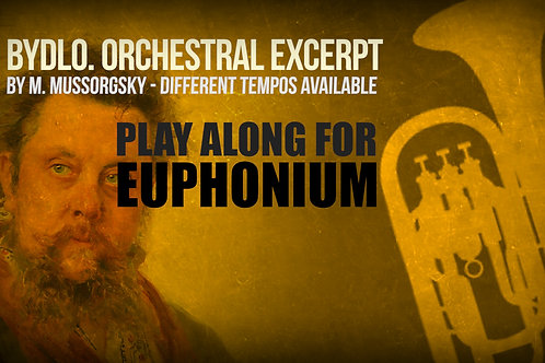 BYDLO (Excerpt) - Pictures at an Exhibition - MUSSORGSKY - For solo EUPHONIUM