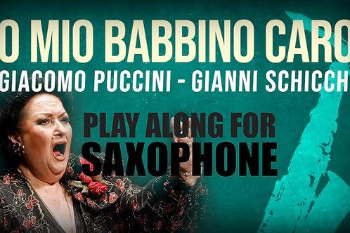 O MIO BABBINO CARO - Giacomo Puccini - For solo SAXOPHONE