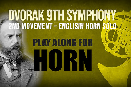 ⛵Dvorak's 9th Symphony⛵ ENGLISH_HORN_SOLO for_FRENCH_HORN