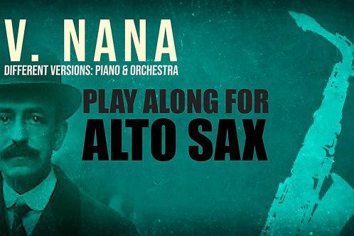 V. NANA (Seven Spanish Folksongs) by FALLA - For solo A.SAXOPHONE