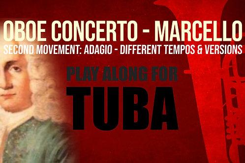 OBOE CONCERTO - 2nd Movement by A. MARCELLO Tuba