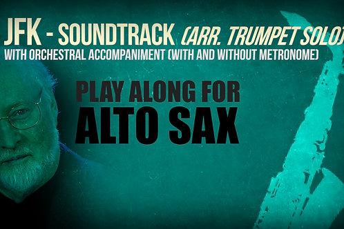 JFK SOUNDTRACK (by JOHN WILLIAMS) - For solo ALTO SAX (arrang. trumpet solo)