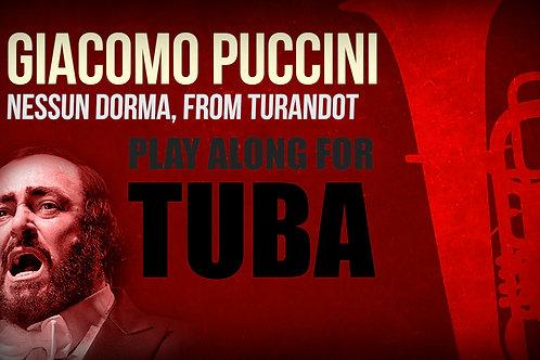 Giacomo Puccini, Nessun Dorma (de TURANDOT) - SOLO TUBA