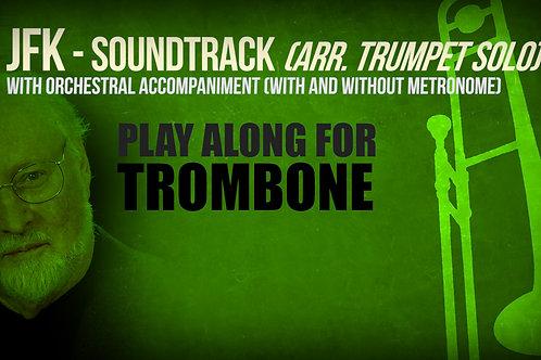JFK SOUNDTRACK (by JOHN WILLIAMS) - For solo TROMBONE (arrang. trumpet solo)