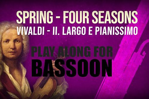 🌼SPRING🌼 THE_FOUR_SEASONS VIVALDI_for BASSOON