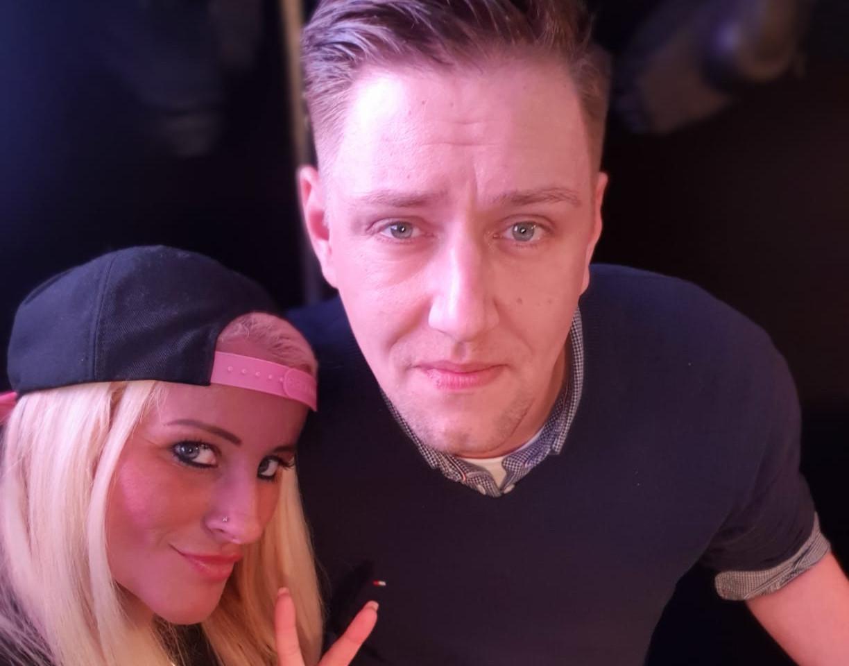 Juana und DJ Stefan