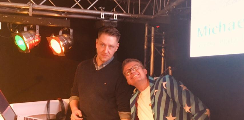 Die Djs Maik und Stefan
