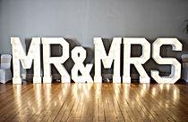 Mr und Mrs Buchstaben