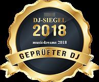 DJ-Siegel 2018 geprüfter DJ