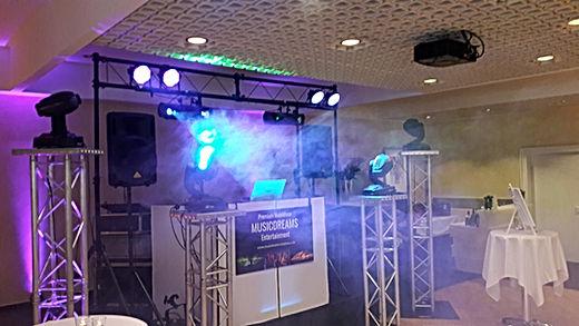DJ-Anlage Hochzeit