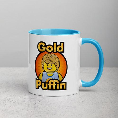 Classic Samson Mug (orange logo background)