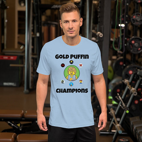 Contest Champions T-Shirt (green logo background)