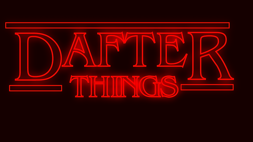 Dafter Things YouTube channel logo