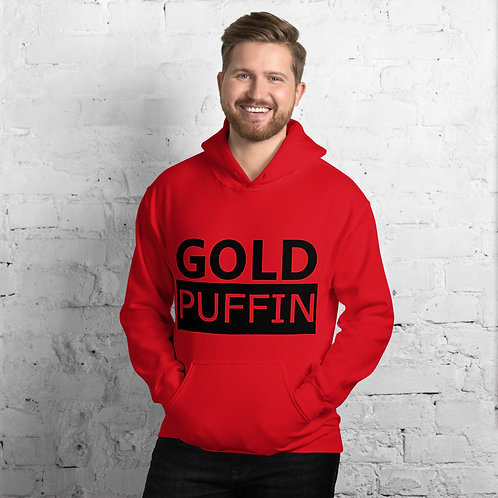 Gold Puffin Bold Hoodie
