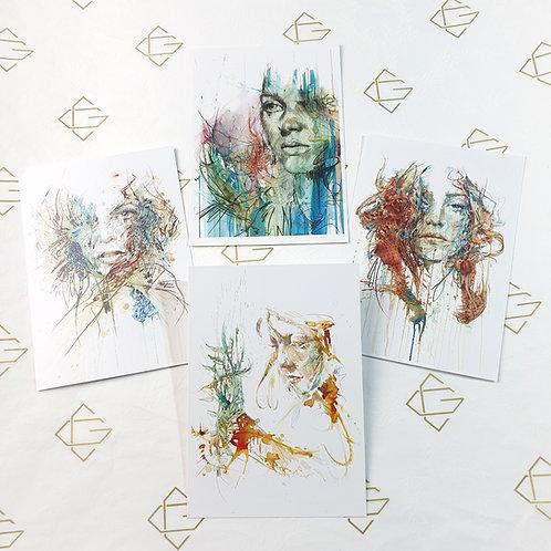 Mystery - Postcard Set