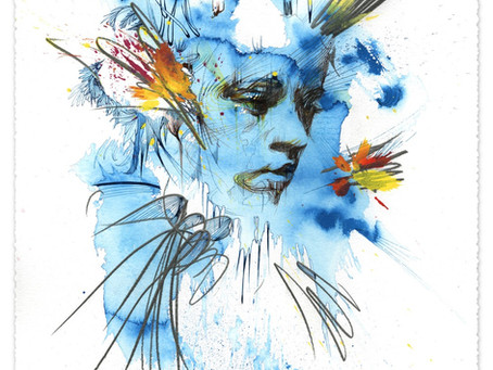 Momentary – Solo Exhibition by Carne Griffiths – Lilford Gallery Folkestone, 29 July to