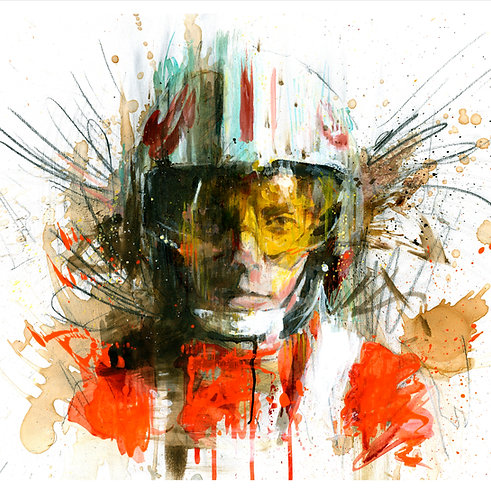 Red Five limited edition print