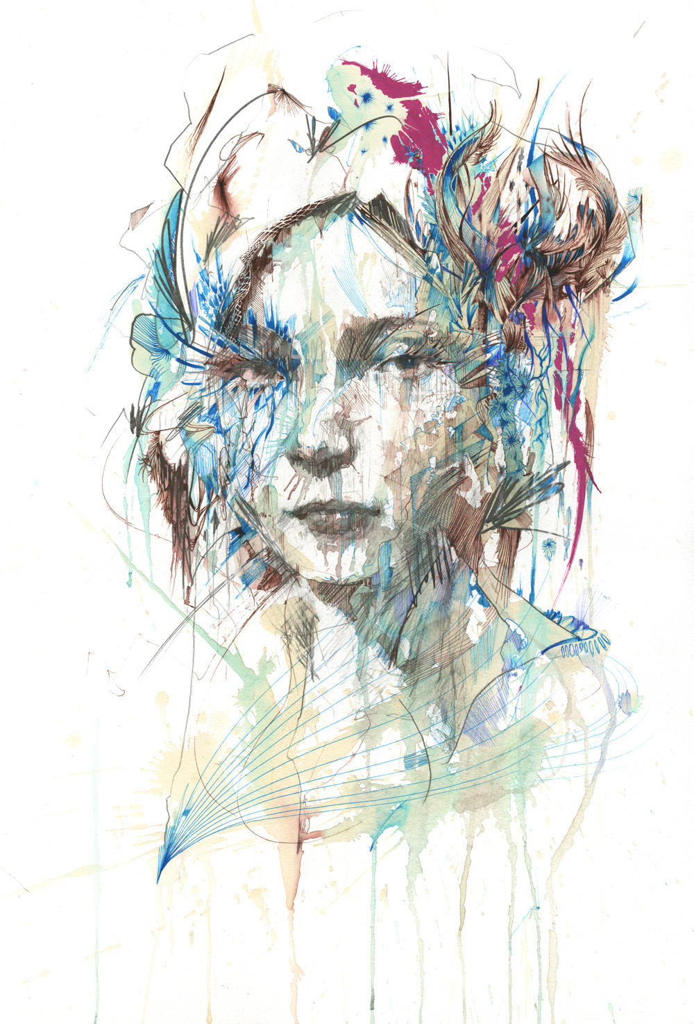Unveil by Carne Griffiths