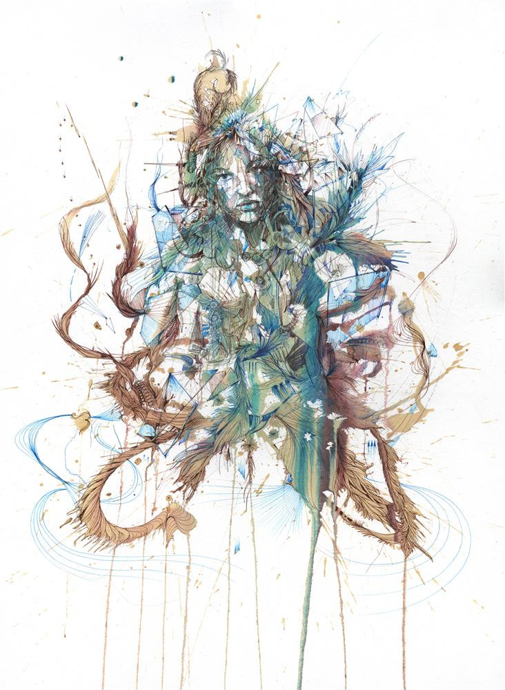 Ascension by Carne Griffiths