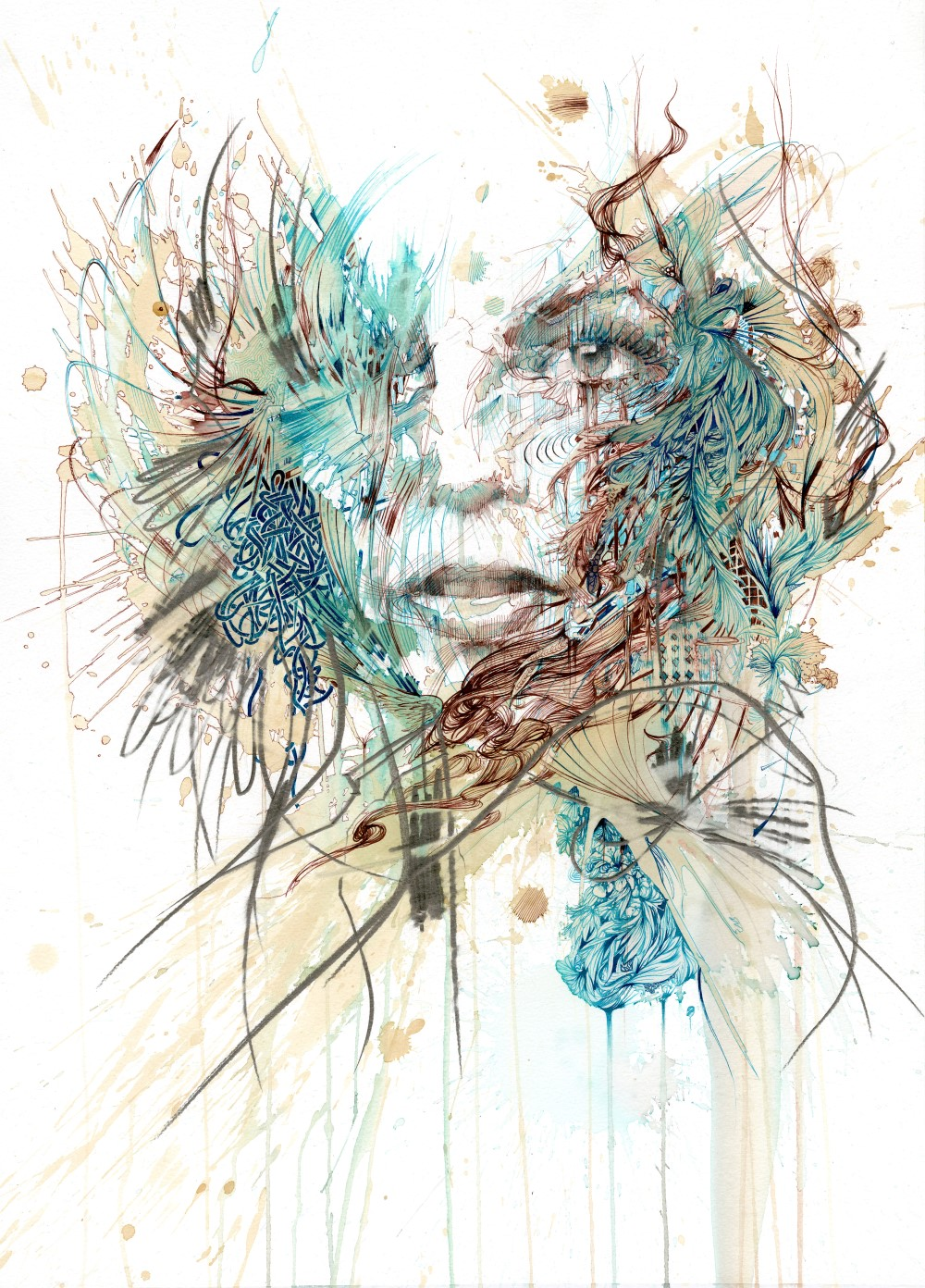 Fly by Carne Griffiths