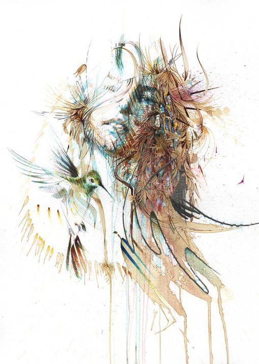 A Stolen Second by Carne Griffiths