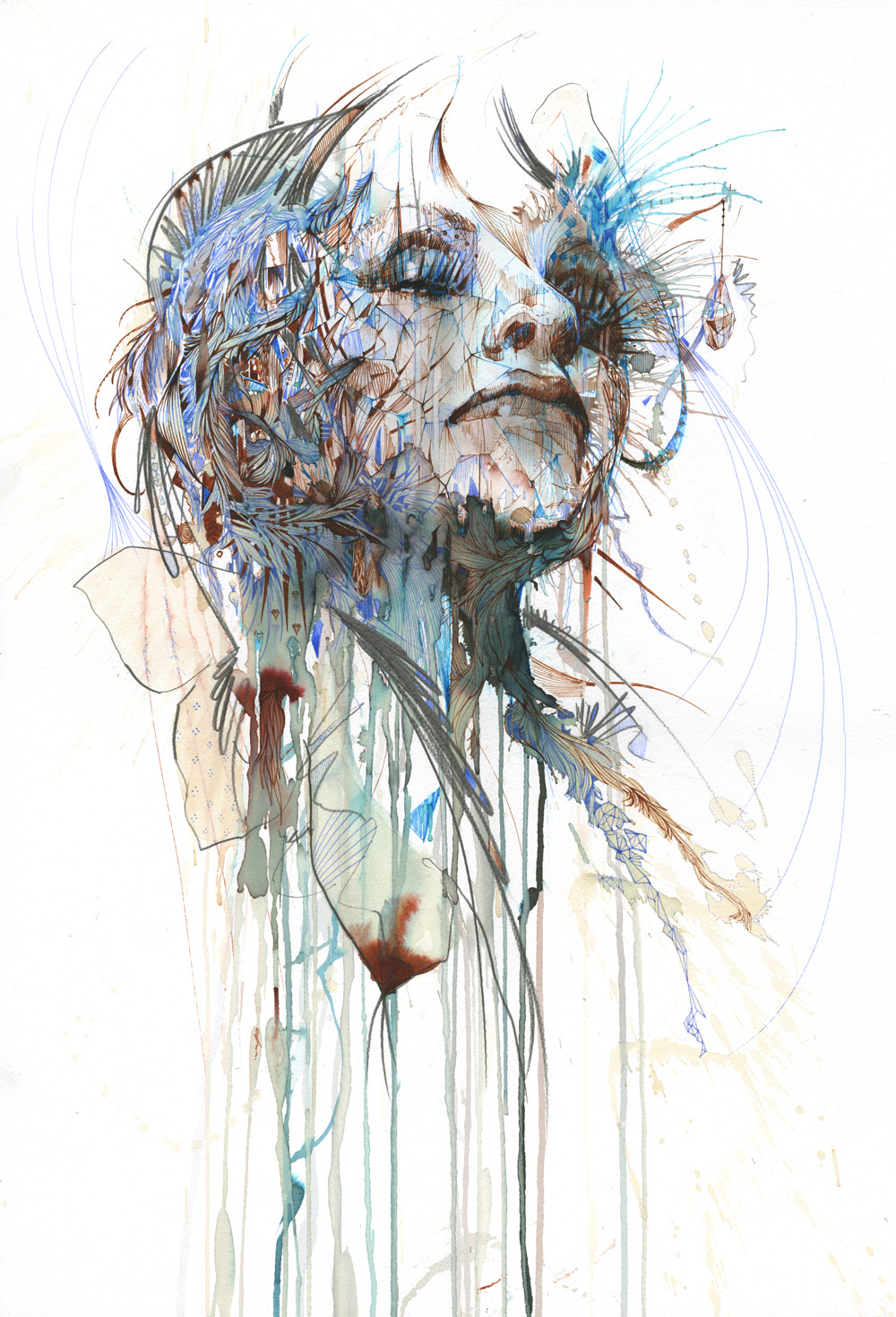 Mind Colours by Carne Griffiths