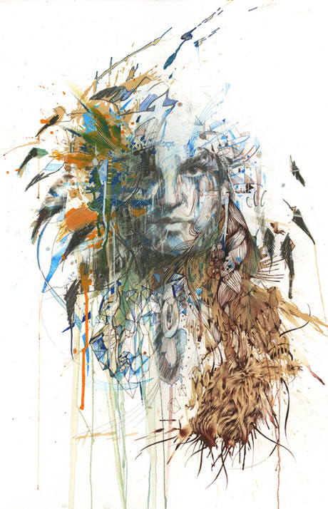 Beneath the White by Carne Griffiths