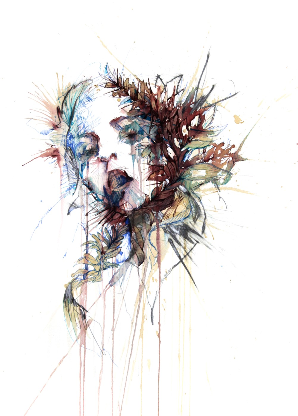 Choke by Carne Griffiths
