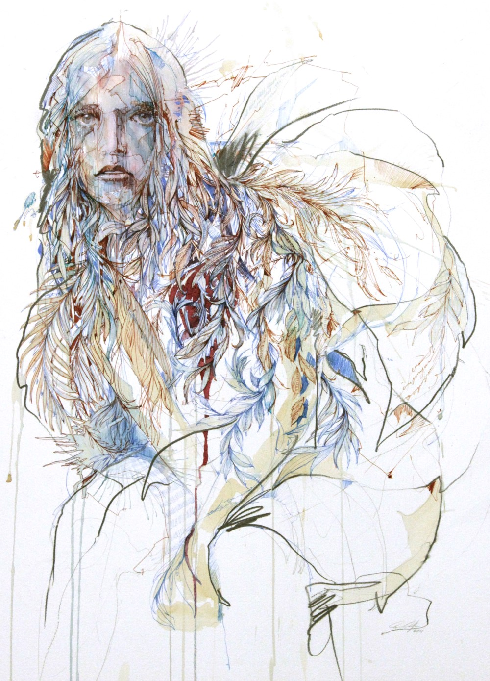 Heartache by Carne Griffiths