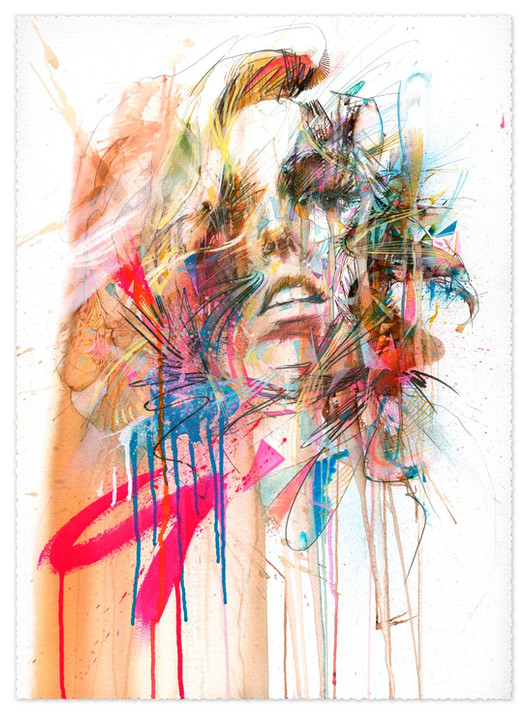Astral Projection by Carne Griffiths