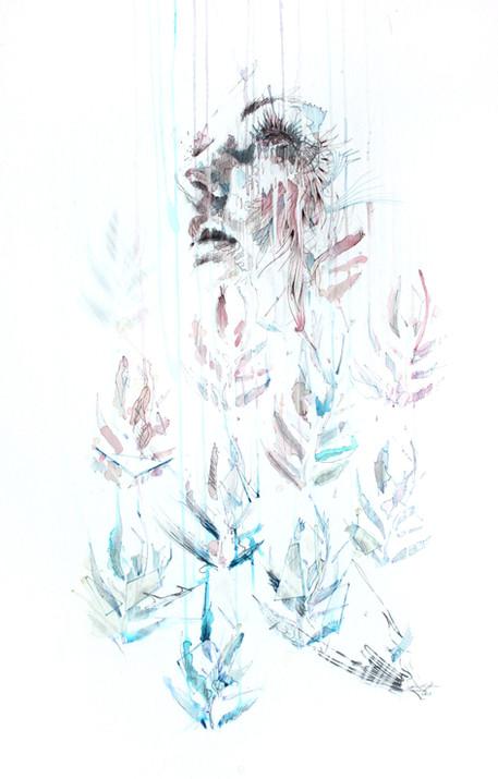 Broken Pattern by Carne Griffiths