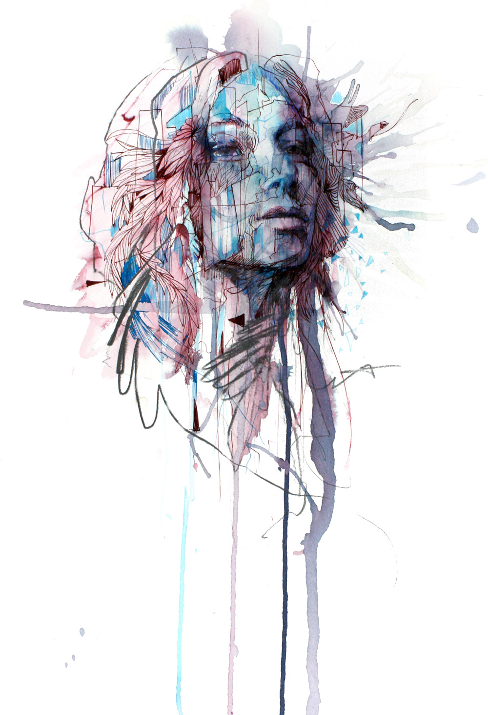 Unwind by Carne Griffiths