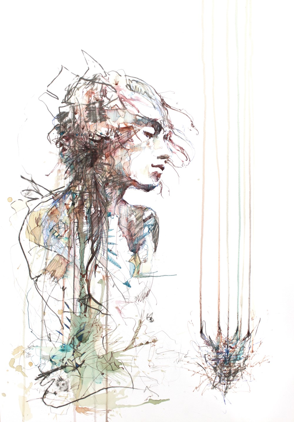 Coma by Carne Griffiths
