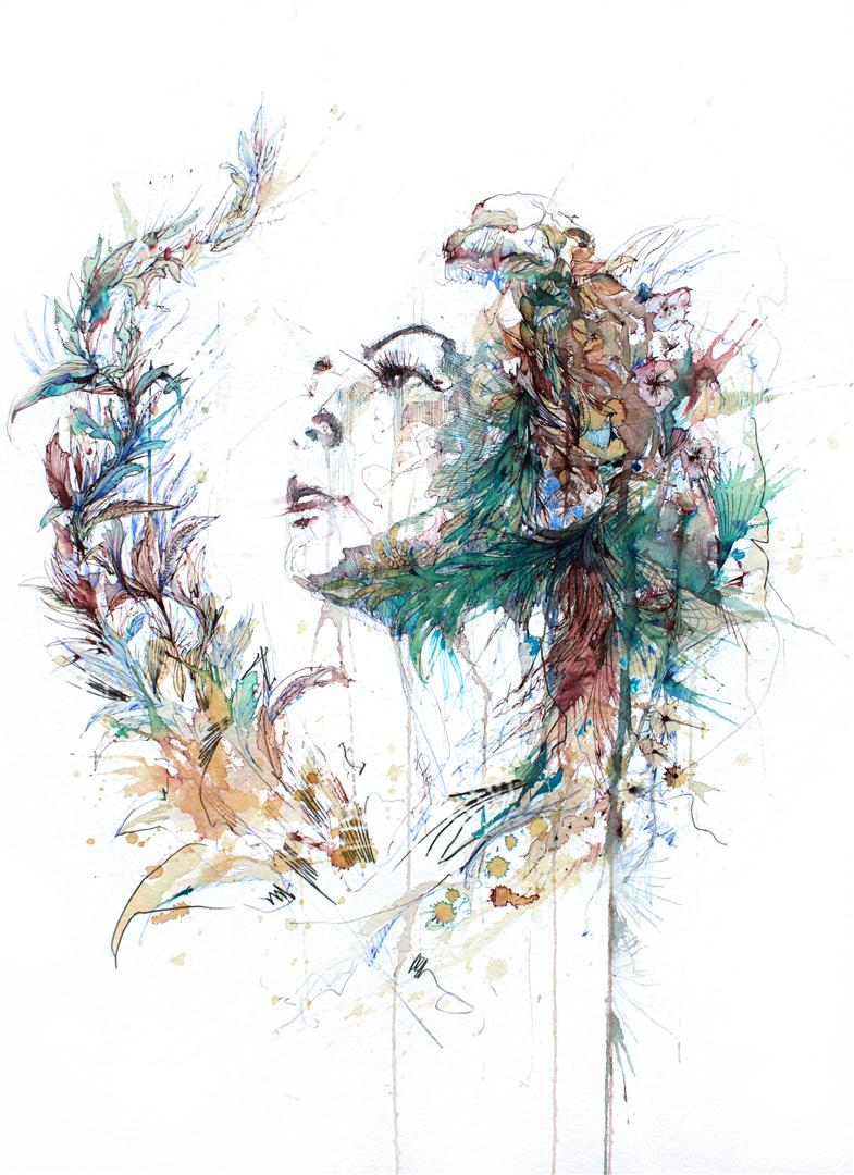 In Spring by Carne Griffiths