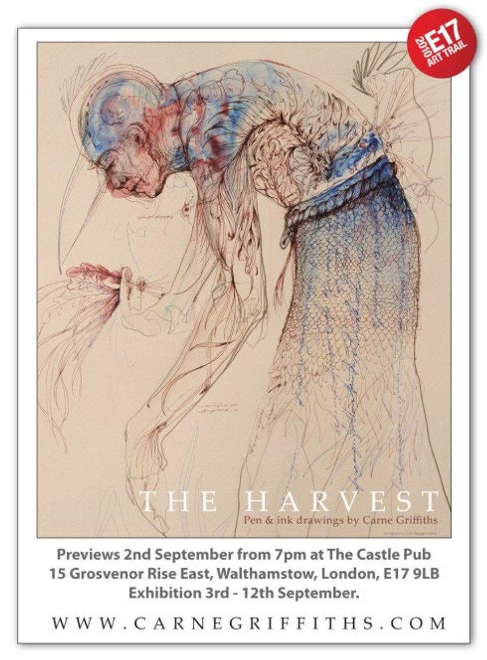The Harvest by Carne Griffiths - E17 Arts Trail