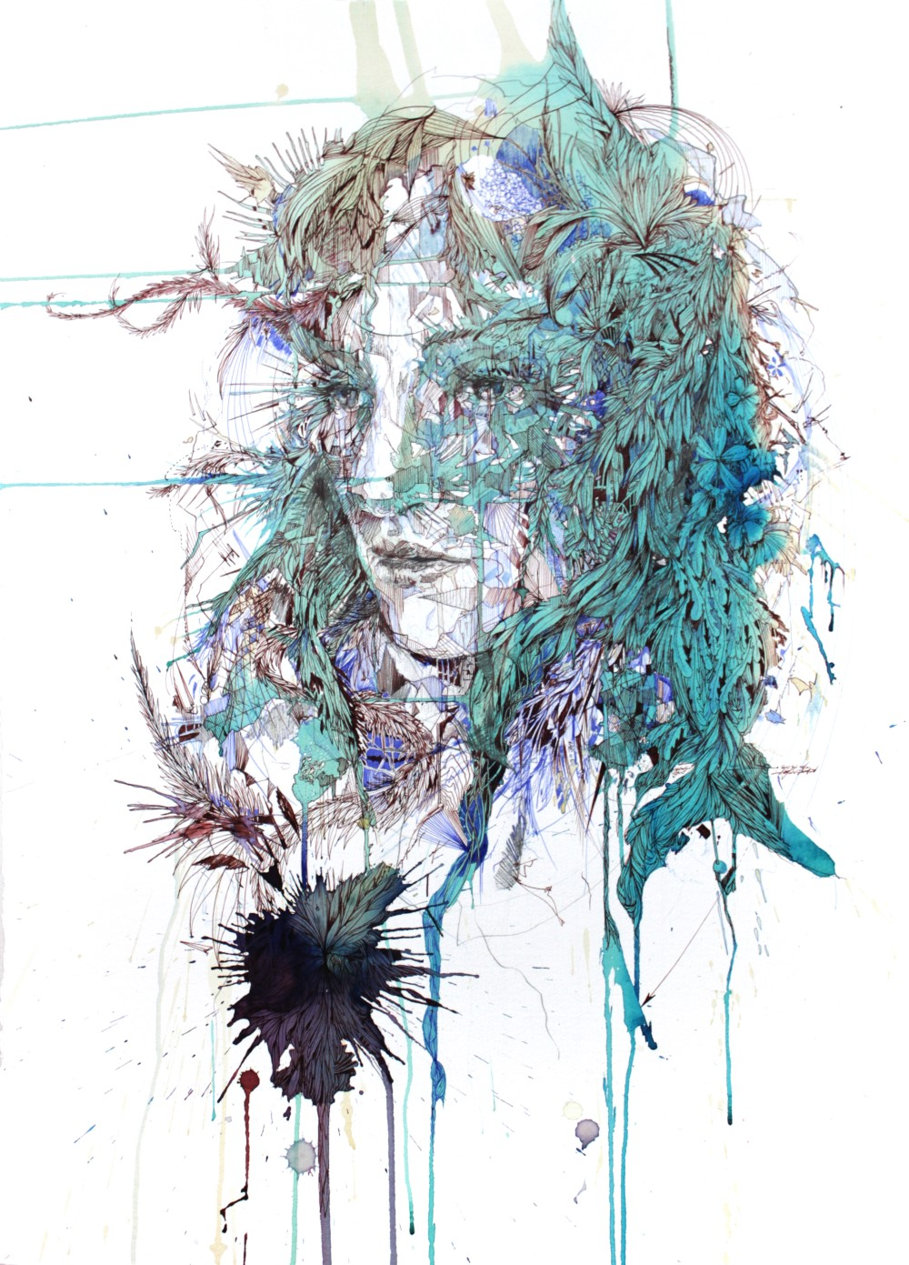 Back to Nature by Carne Griffiths