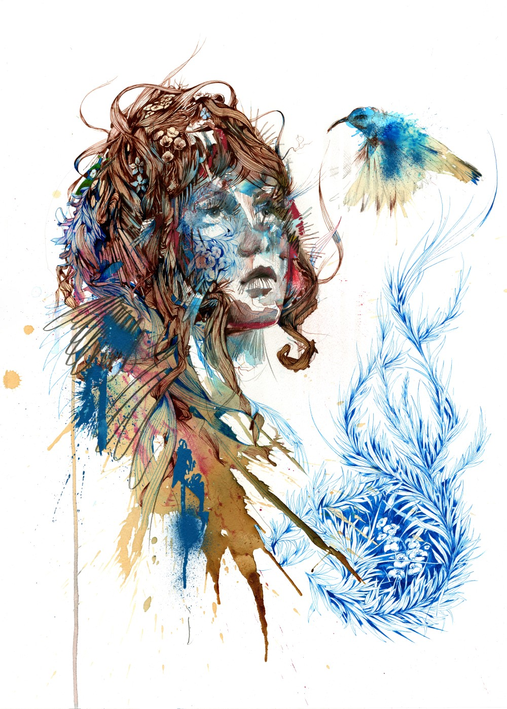 Ascend by Carne Griffiths