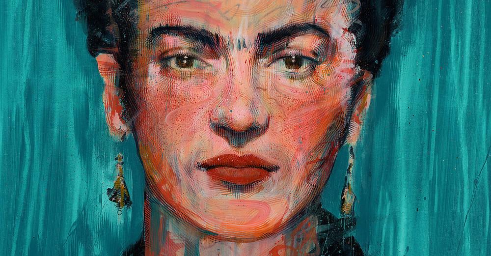Frida Kahlo - Acrylic on canvas