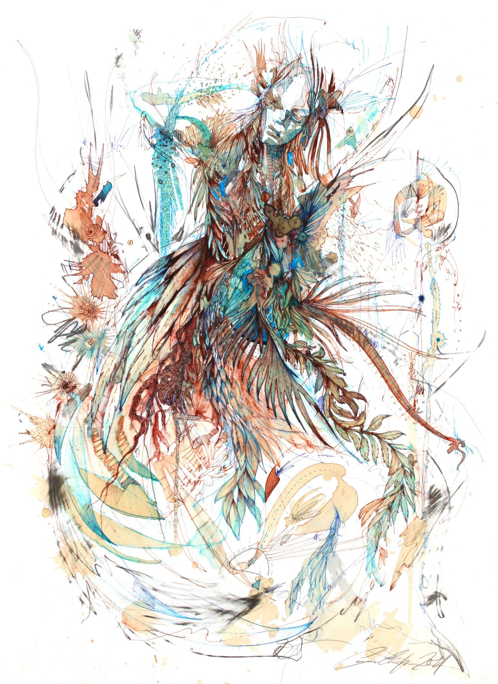 Lose Yourself by Carne Griffiths