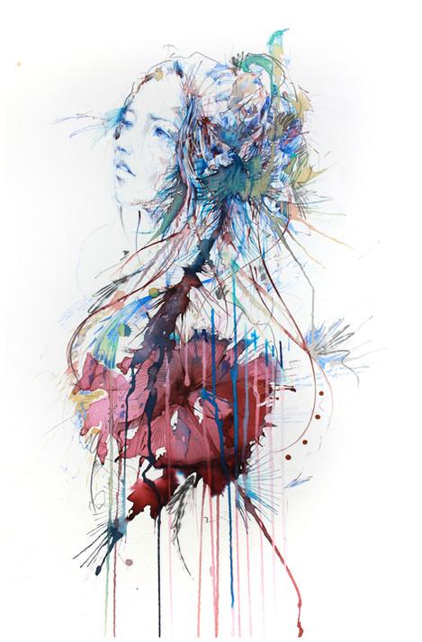 Bauhinia by Carne Griffiths