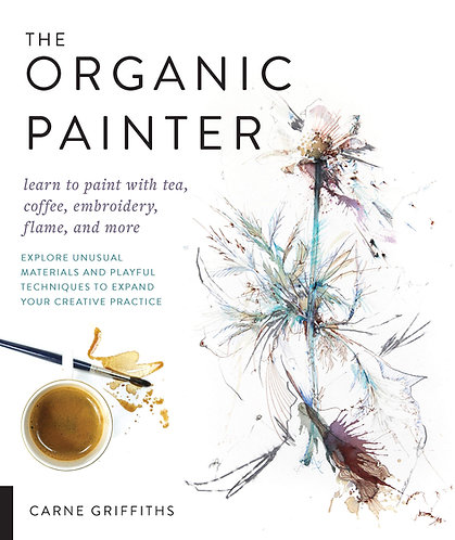 The Organic Painter by Carne Griffiths