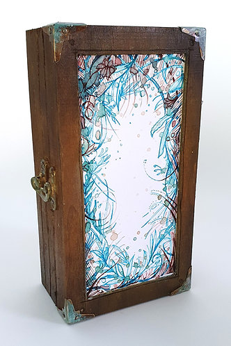 Hummingbird - Handmade lightbox