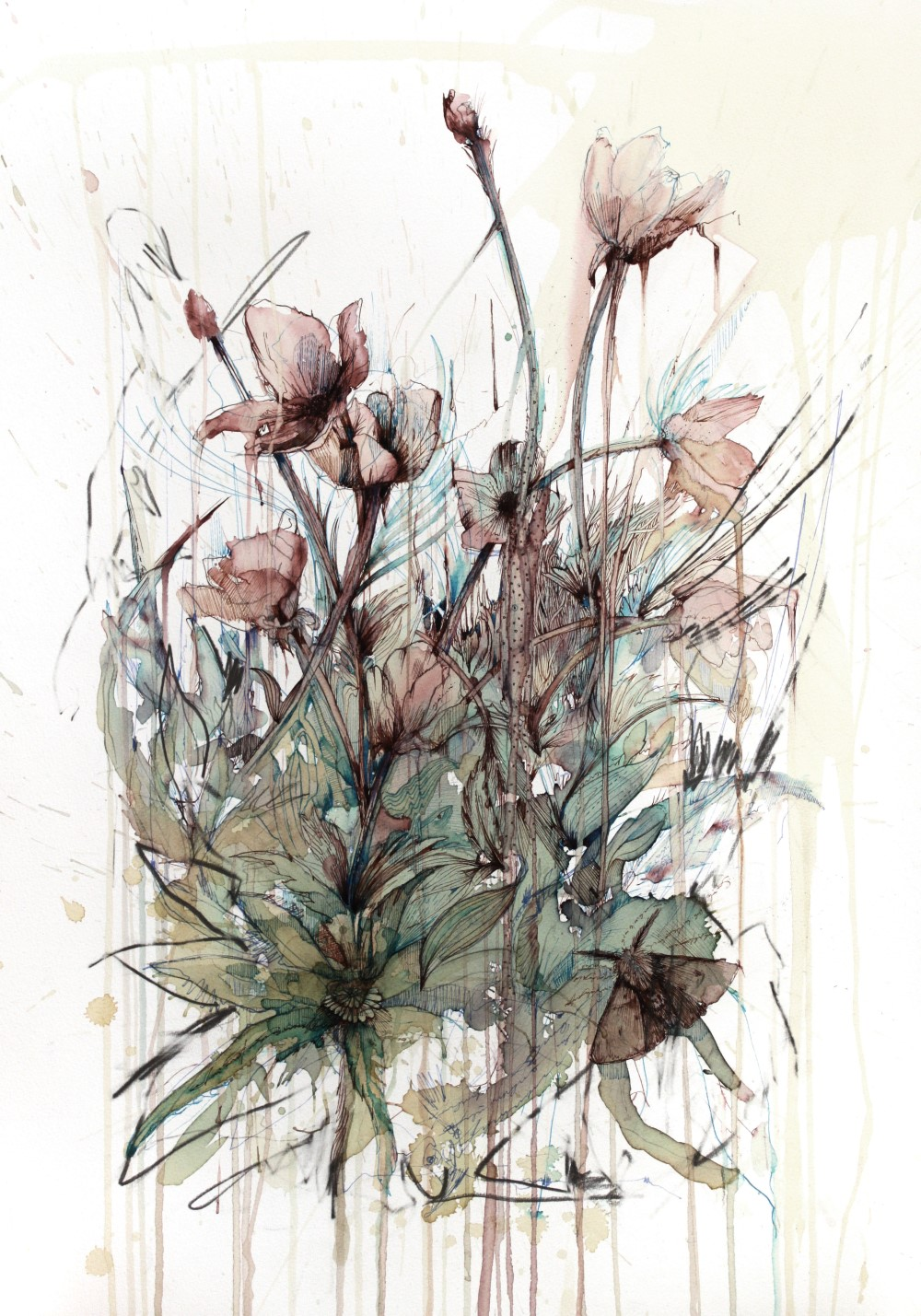 Poppy by Carne Griffiths