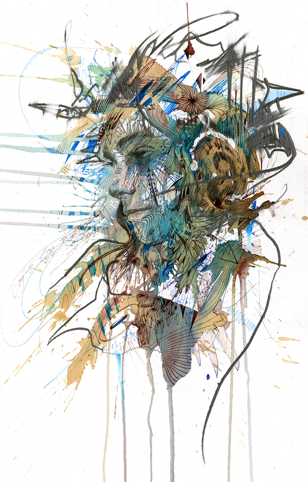 The Gathering by Carne Griffiths