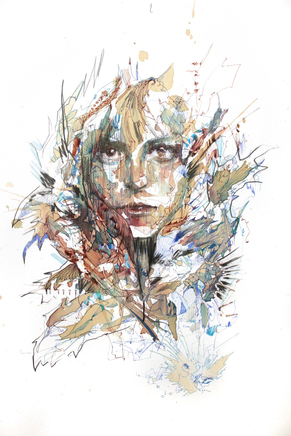 Take Cover by Carne Griffiths