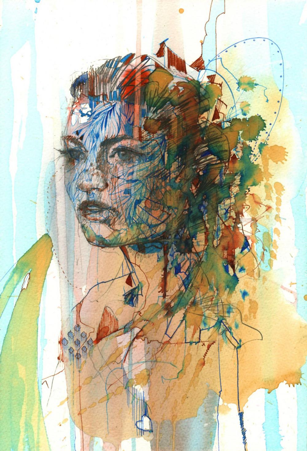 Inner Worlds by Carne Griffiths (Custom) (2)