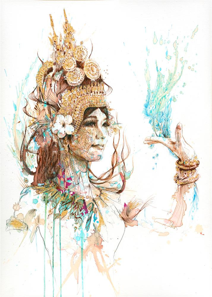Apsara by Carne Griffiths
