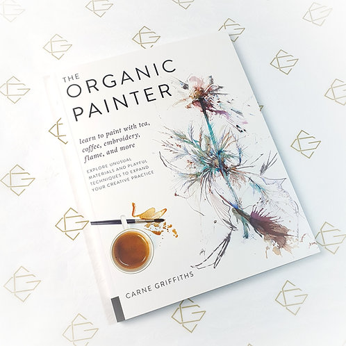 Signed copy of The Organic Painter plus Free Postcard Pack