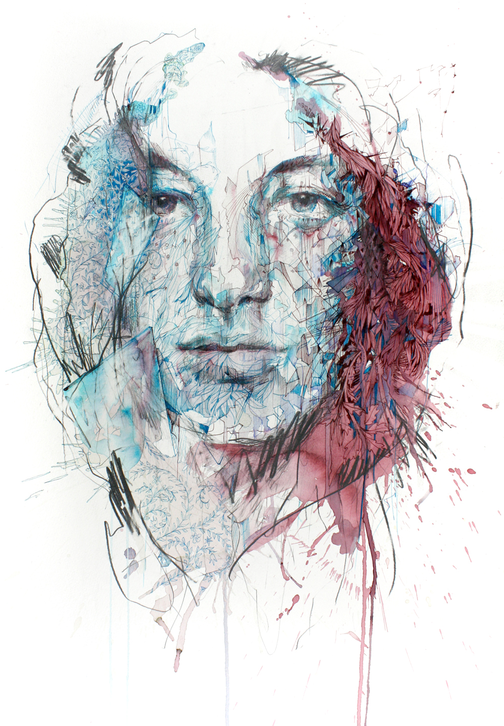 A thin Veil by Carne Griffiths