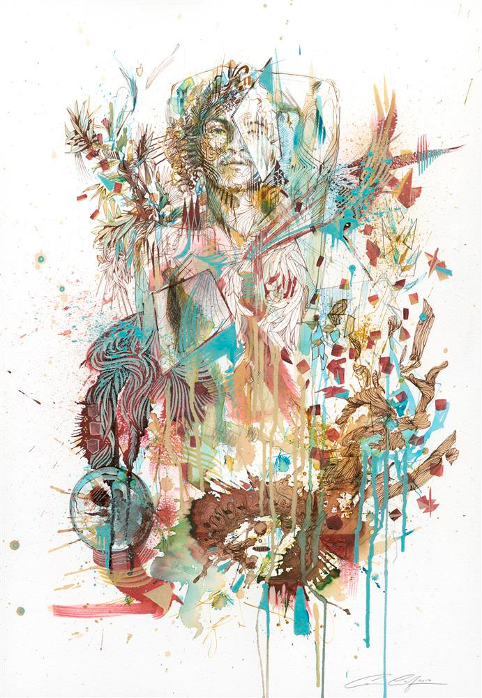born in chaos by Carne Griffiths